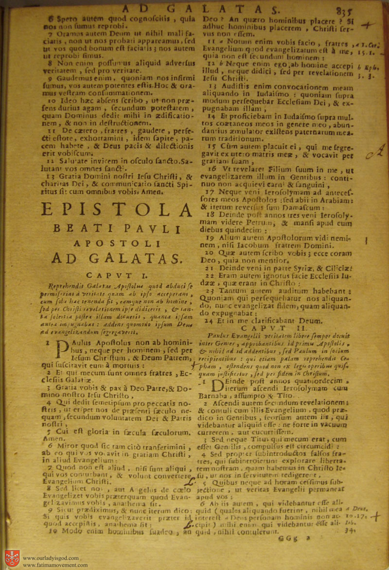 Catholic Latin Vulgate Bible page 0850