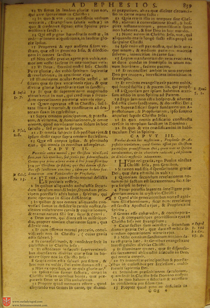 Catholic Latin Vulgate Bible page 0854