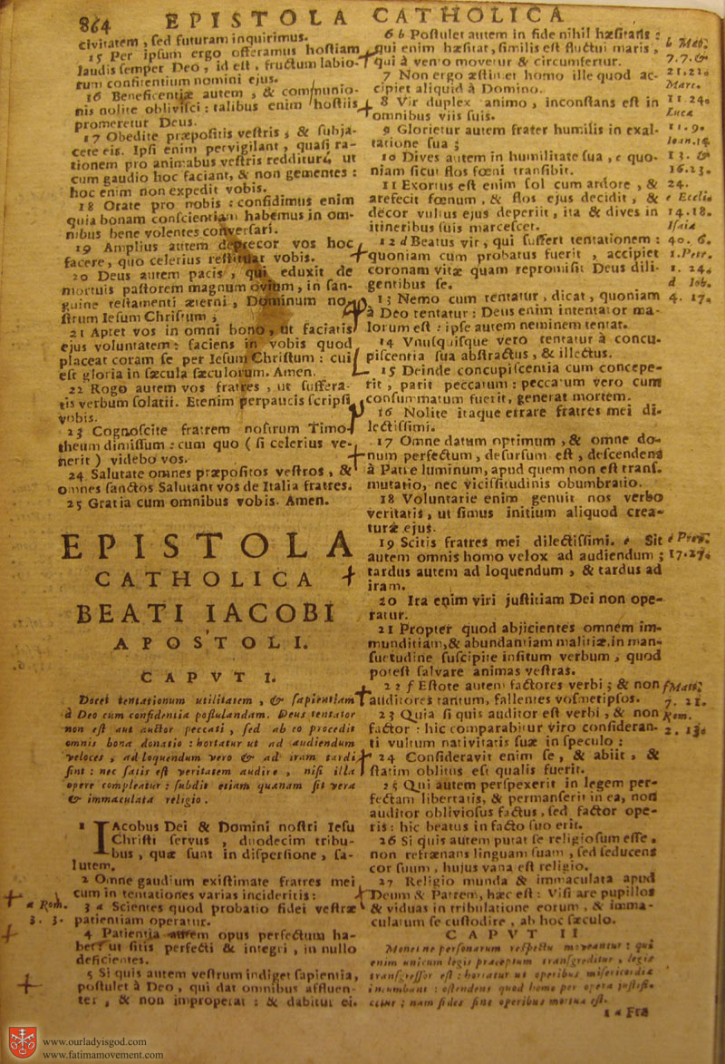 Catholic Latin Vulgate Bible page 0879