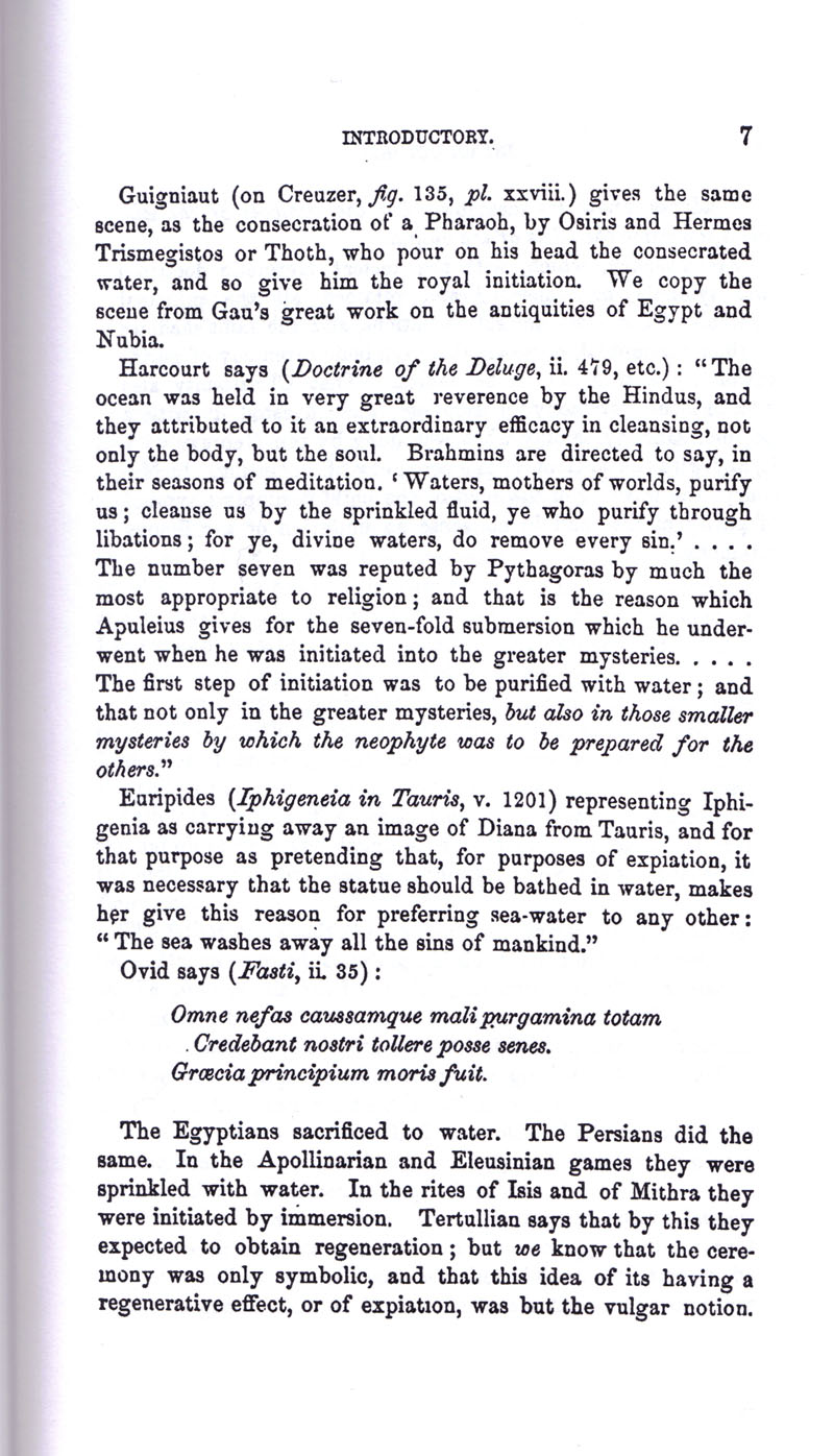 Masonic Baptism of Children by Albert Pike Part I page 7