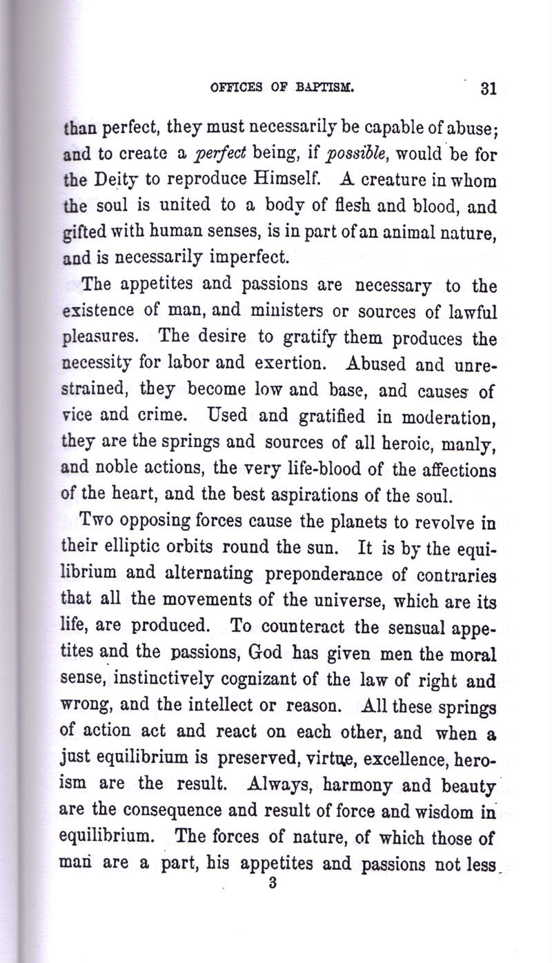 Masonic Baptism of Children by Albert Pike Part I page 31