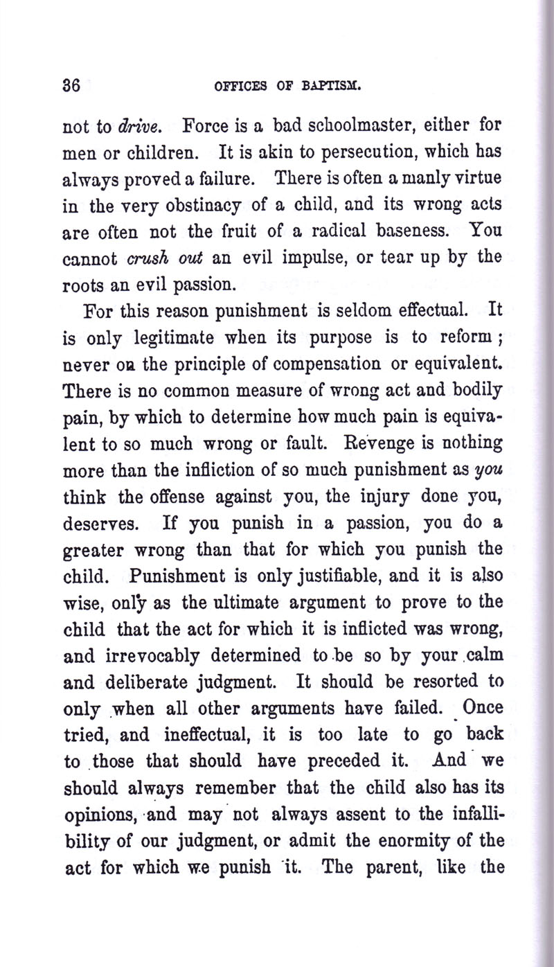 Masonic Baptism of Children by Albert Pike Part I page 36
