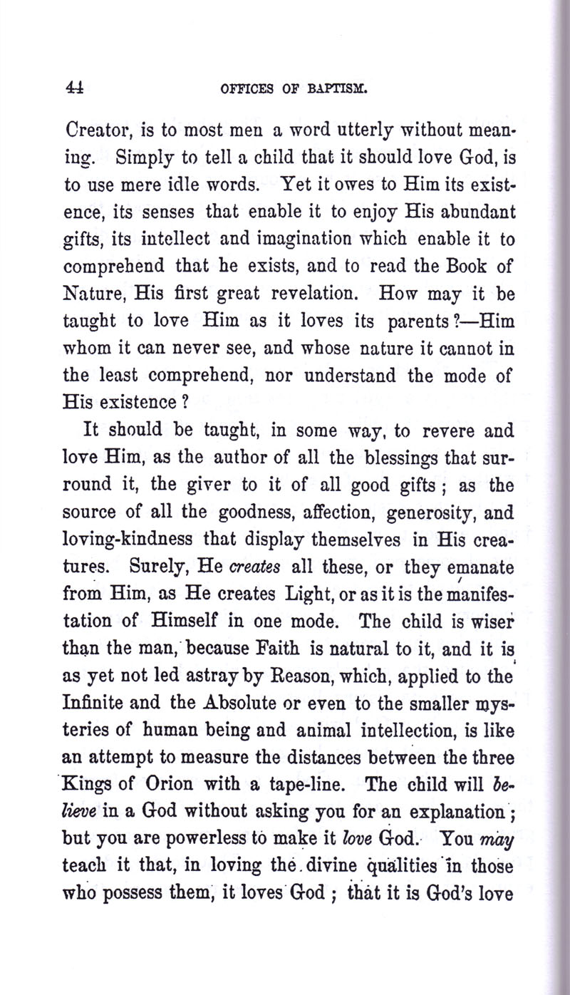 Masonic Baptism of Children by Albert Pike Part I page 44