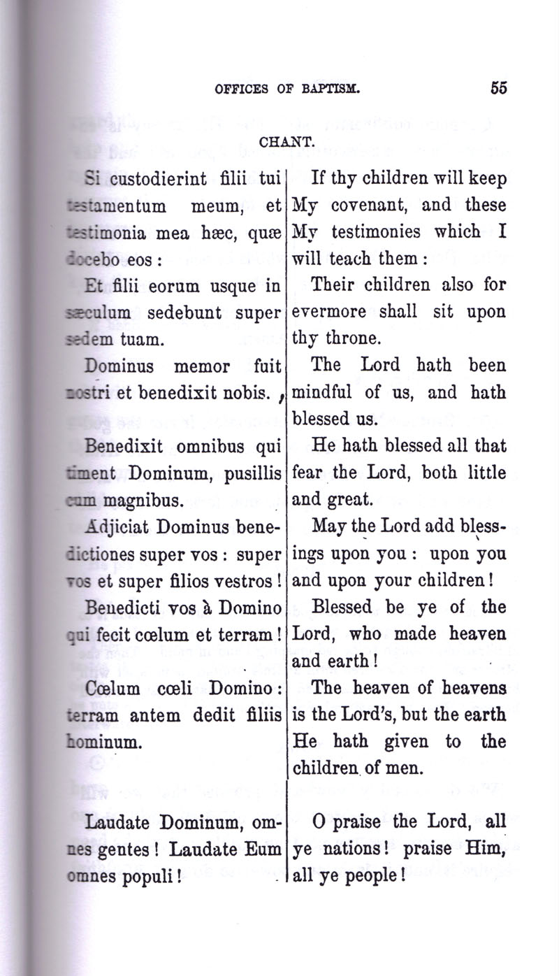 Masonic Baptism of Children by Albert Pike Part I page 55