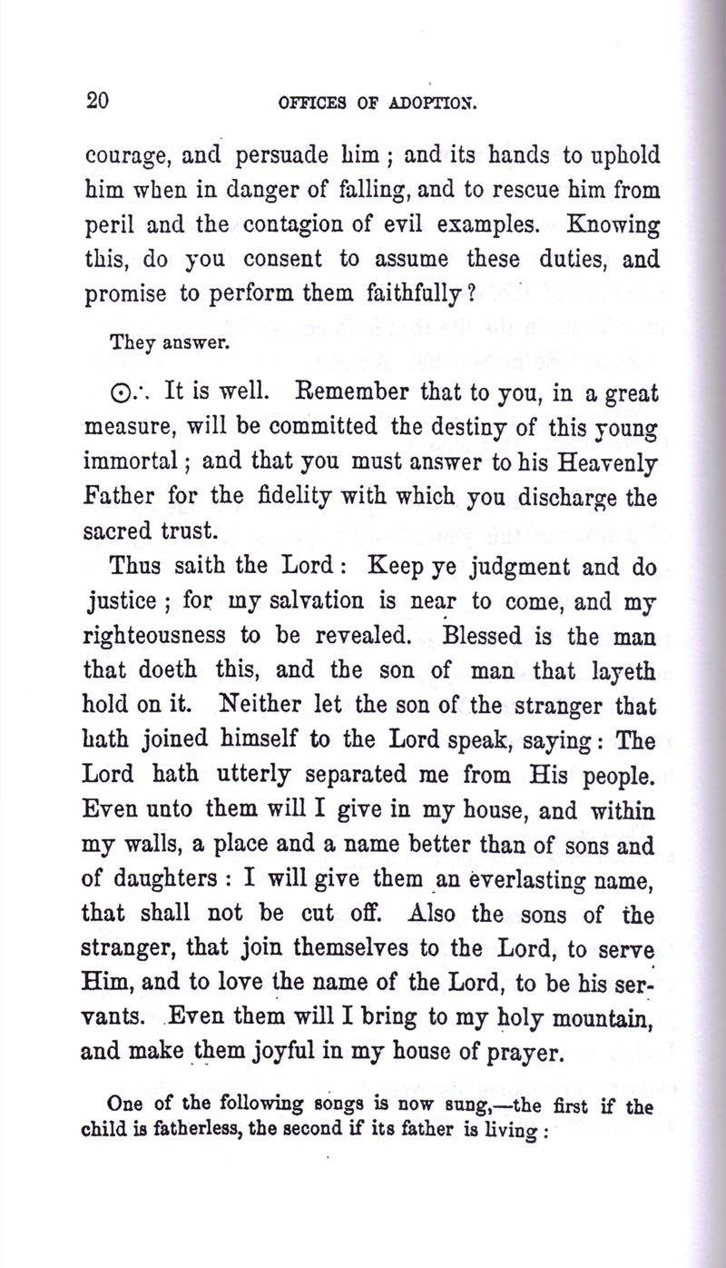 Masonic Baptism of Children by Albert Pike Part III page 20