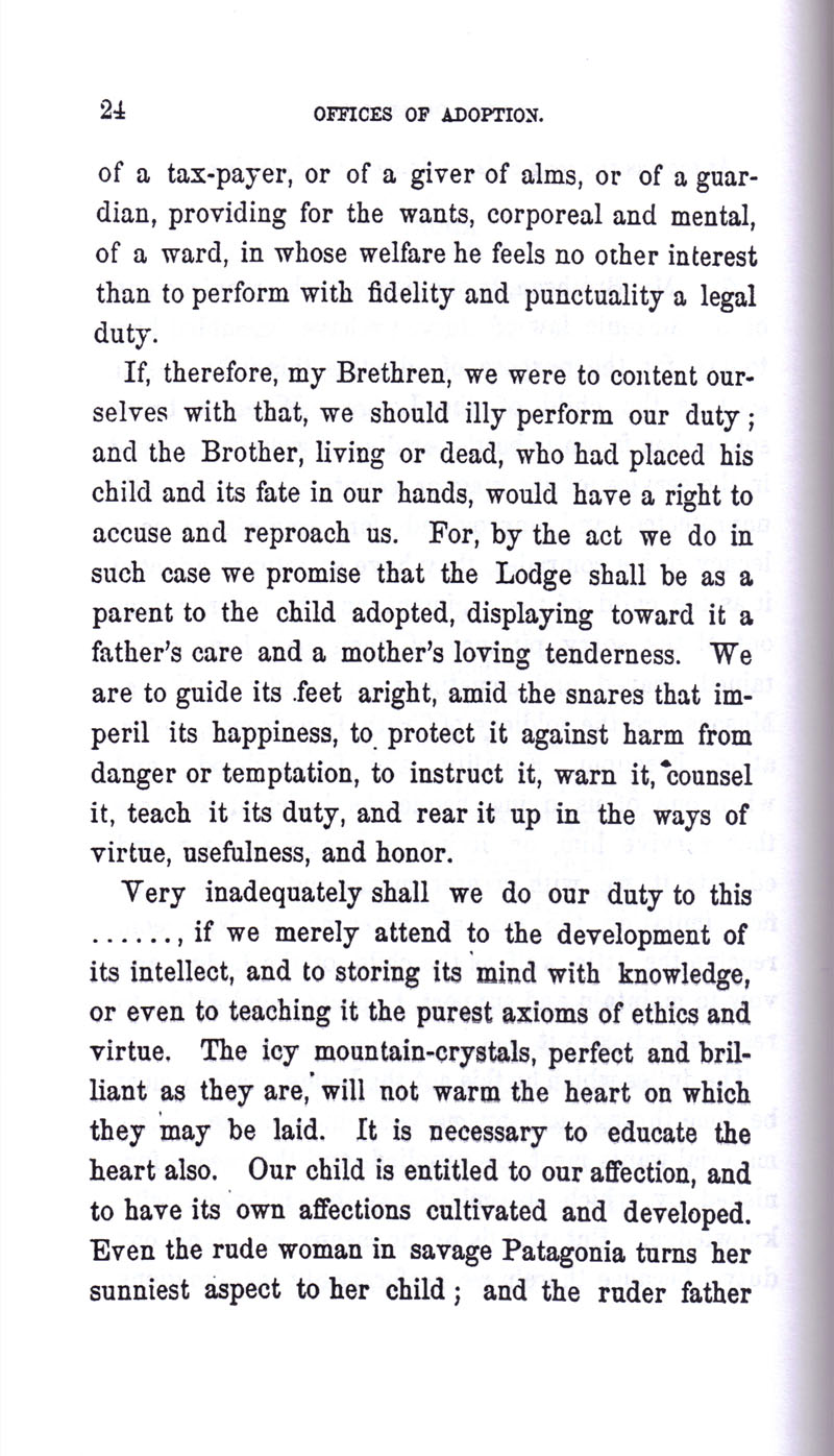 Masonic Baptism of Children by Albert Pike Part III page 24
