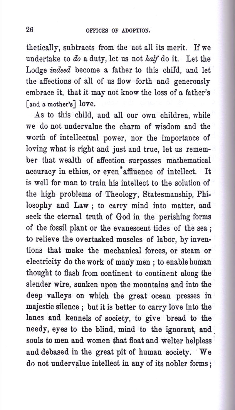Masonic Baptism of Children by Albert Pike Part III page 26