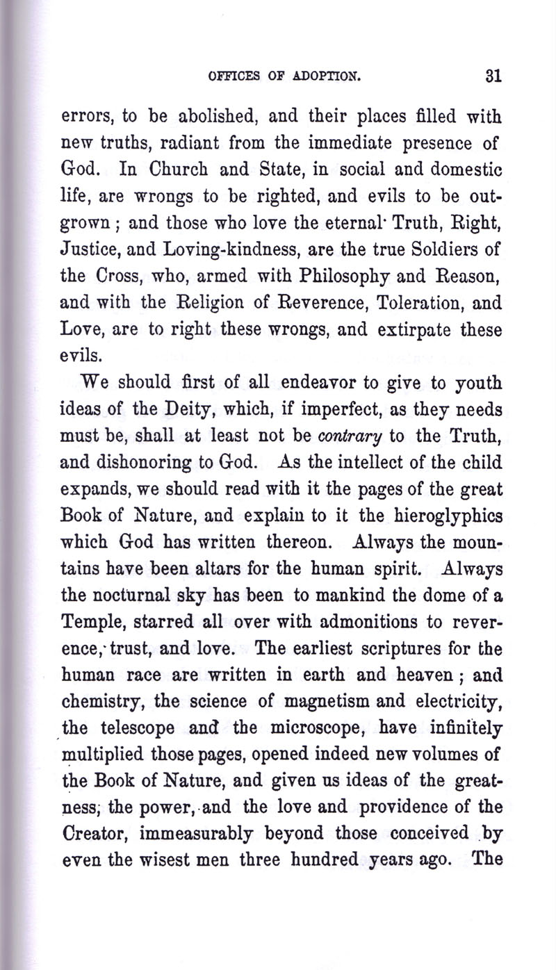 Masonic Baptism of Children by Albert Pike Part III page 31