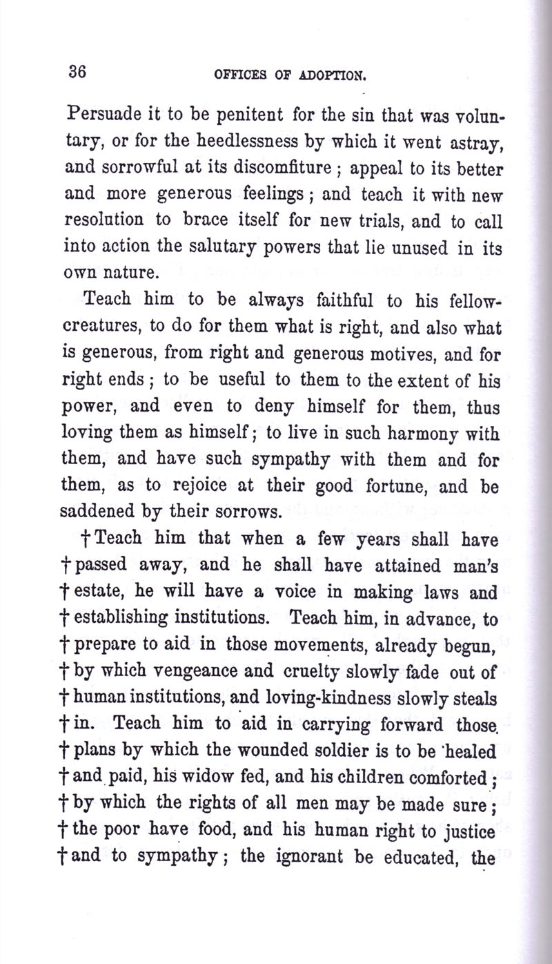 Masonic Baptism of Children by Albert Pike Part III page 36