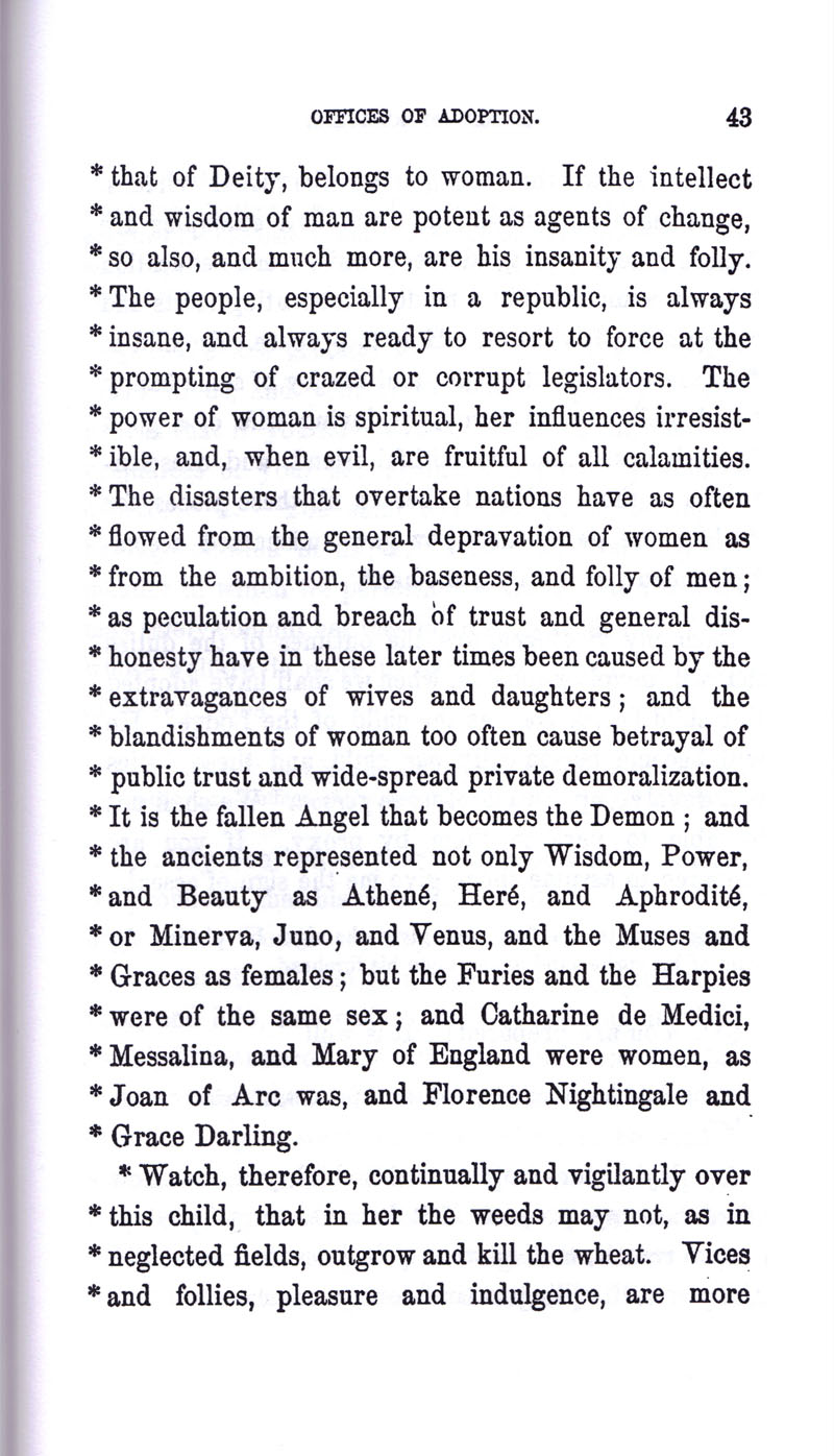 Masonic Baptism of Children by Albert Pike Part III page 43