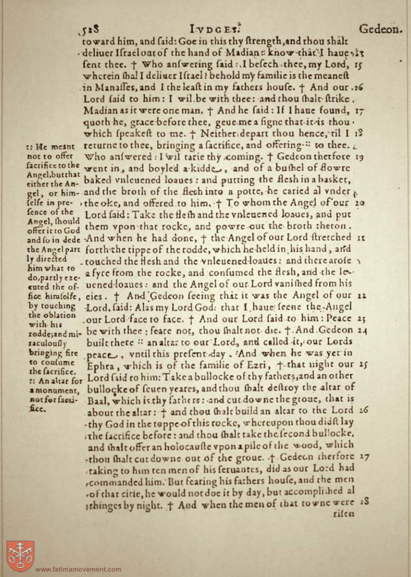 Original Douay Rheims Catholic Bible scan 0000