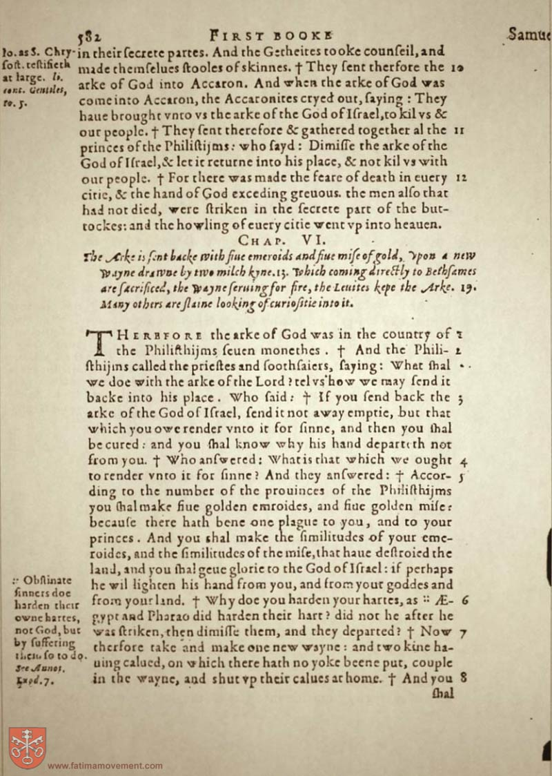 Original Douay Rheims Catholic Bible scan 0602