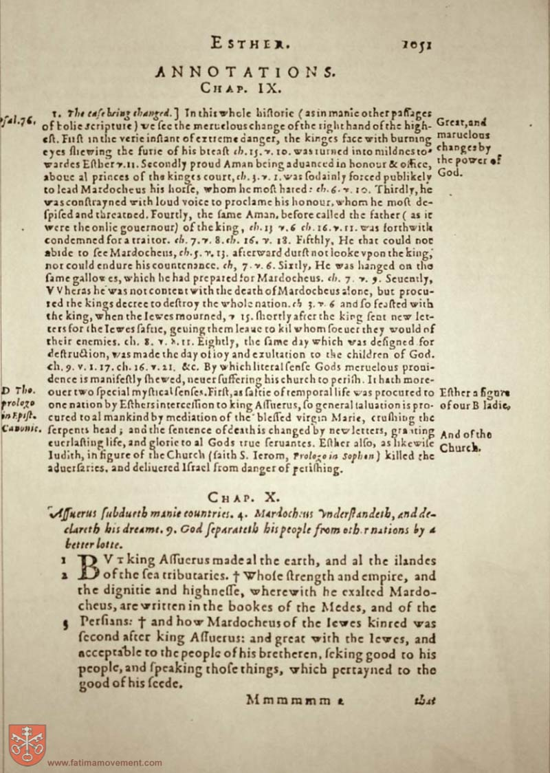 Original Douay Rheims Catholic Bible scan 1071