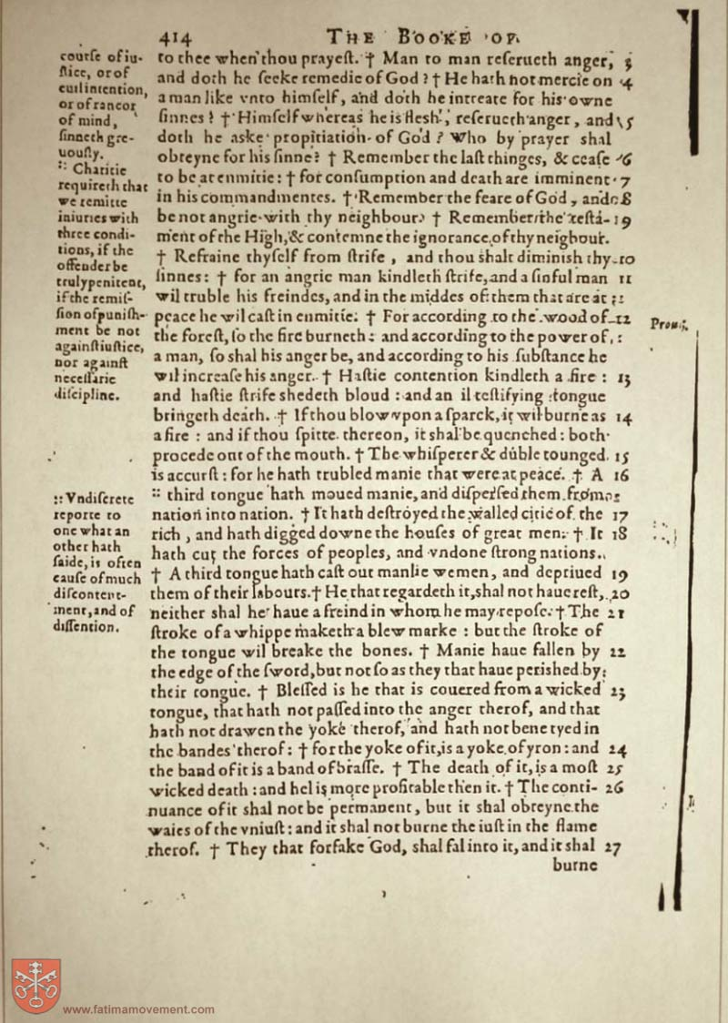 Original Douay Rheims Catholic Bible scan 1549