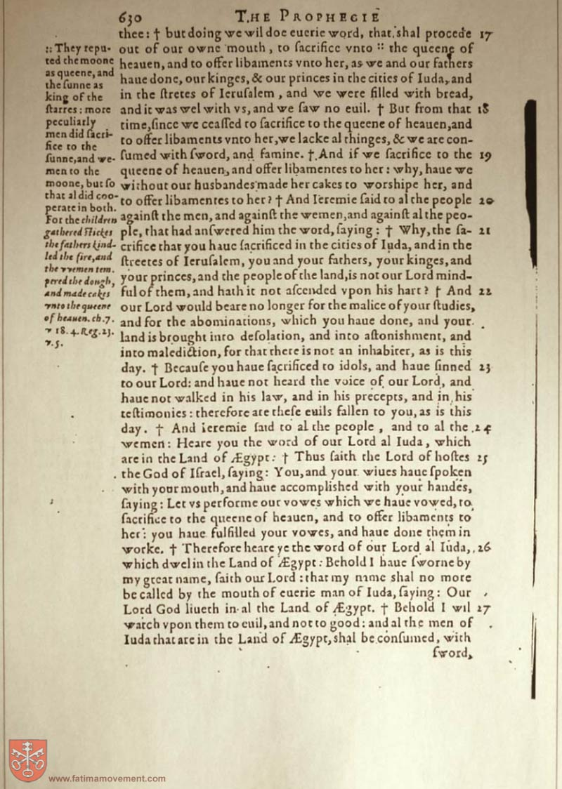 Original Douay Rheims Catholic Bible scan 1765