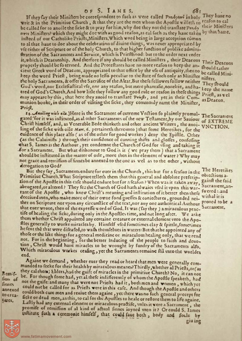 Original Douay Rheims Catholic Bible scan 2890