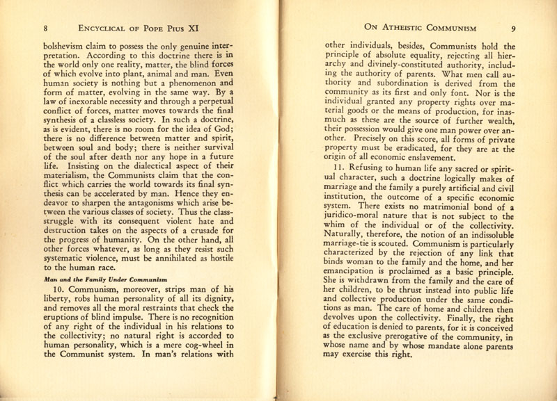 Antipope Pius XI Atheistic Communism Encyclical scan 06