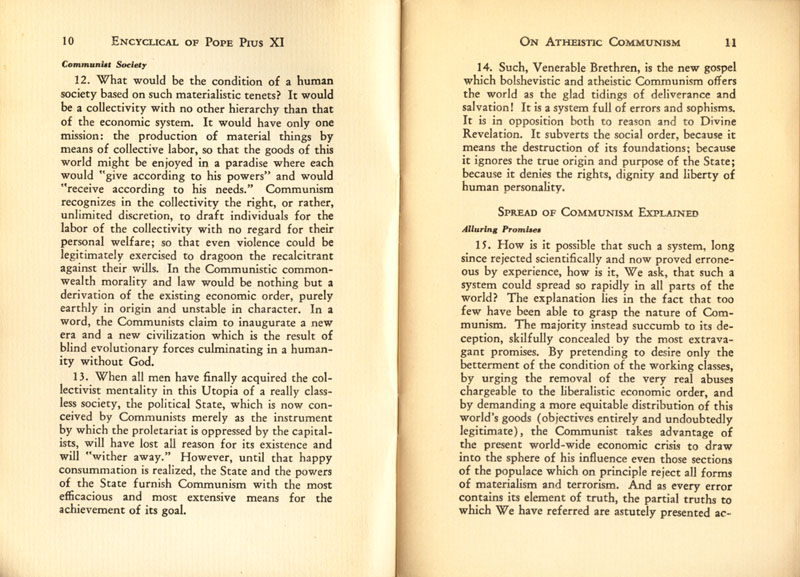 Antipope Pius XI Atheistic Communism Encyclical scan 07