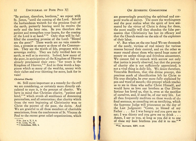 Antipope Pius XI Atheistic Communism Encyclical scan 18