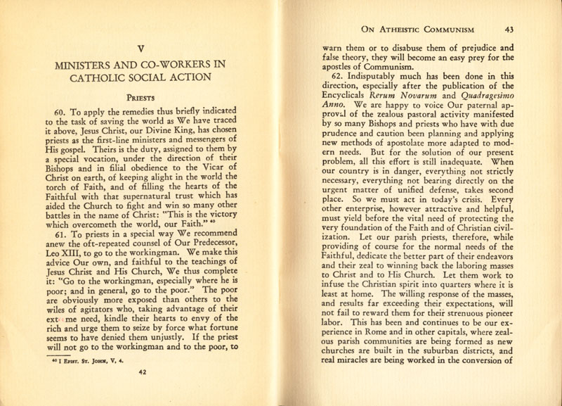 Antipope Pius XI Atheistic Communism Encyclical scan 23