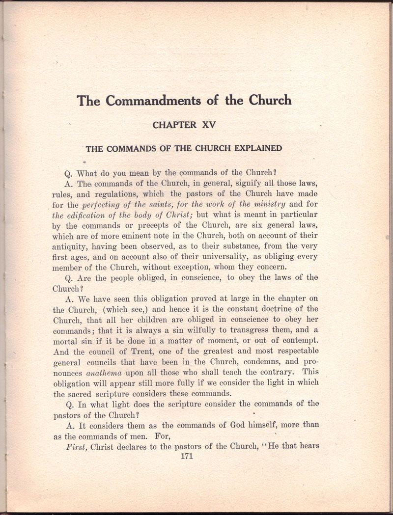 The Manual of The Holy Catholic Church 171