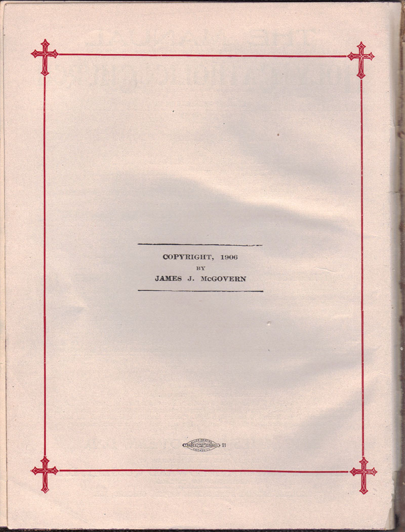 The Manual of The Holy Catholic Church b
