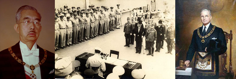Hirohito surrenders world war ii ends