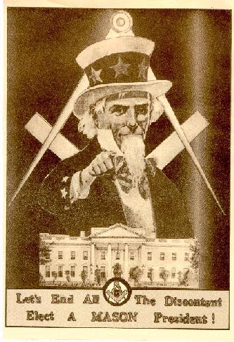 Freemasonry has run the American Government since its inception.