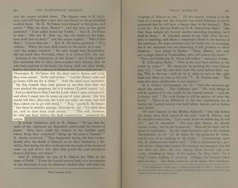 Page 360 of Volume II of the Babylonian Talmud