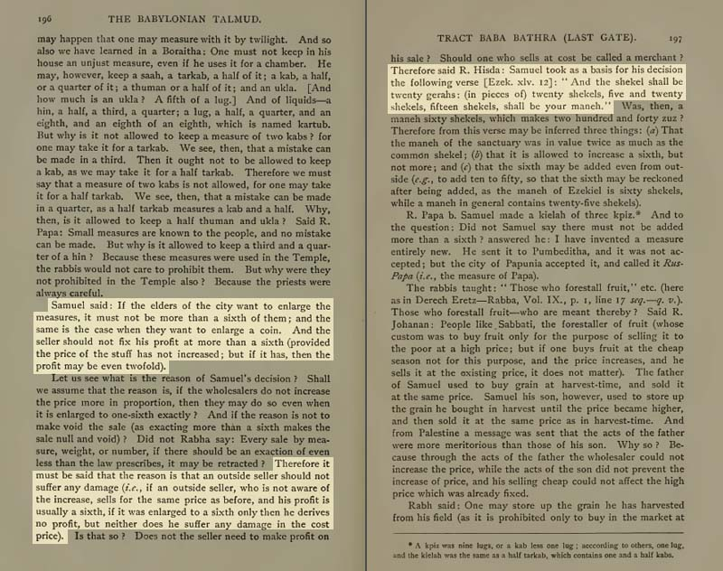 Pages 196-197 of Volume XIII of the Babylonian Talmud