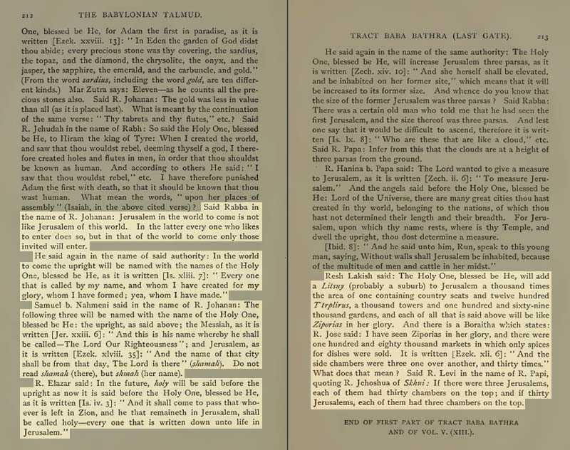 Pages 212-213 of Volume XIII of the Babylonian Talmud