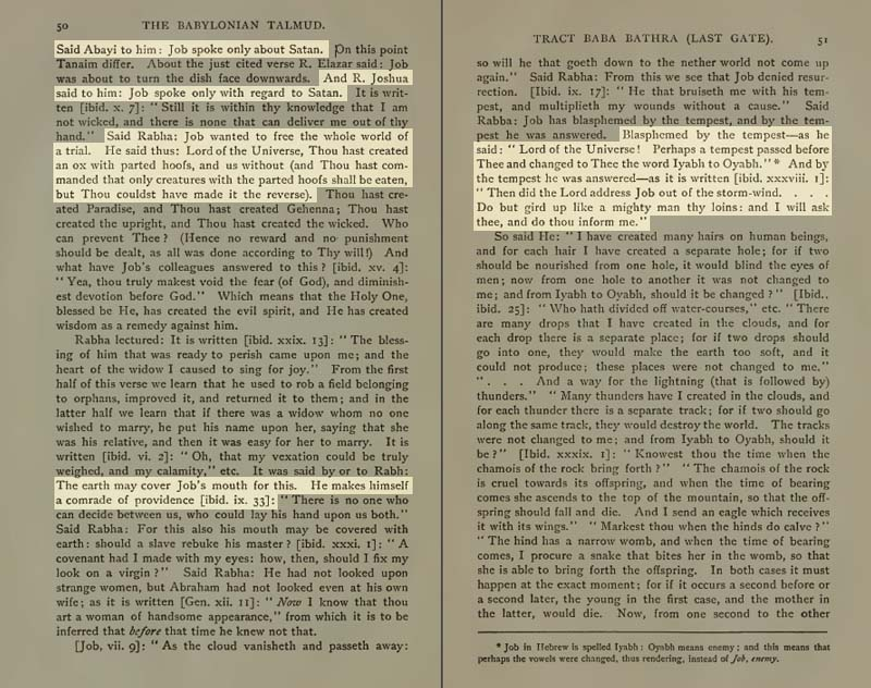 Pages 50-51 of Volume XIII of the Babylonian Talmud