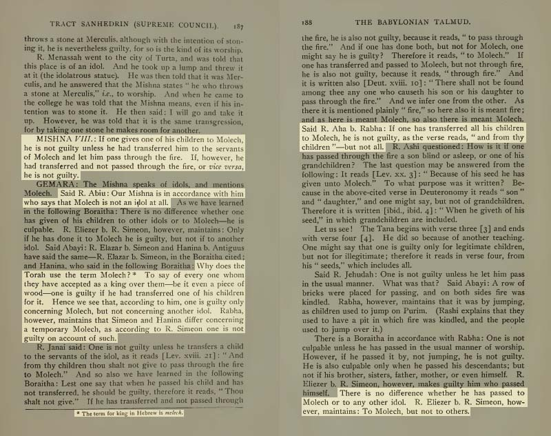 Pages 187-188 of Volume XV of the Babylonian Talmud