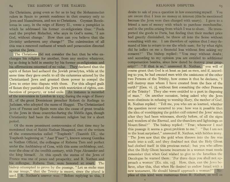 Pages 64-65 of Volume XIX of the Babylonian Talmud
