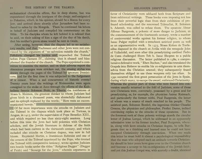 Pages 72-73 of Volume XIX of the Babylonian Talmud