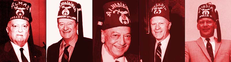 Luciferian Jewish Freemason Shriners