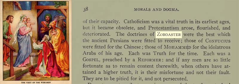 Zoroastrian kings and their Jewish Jesus