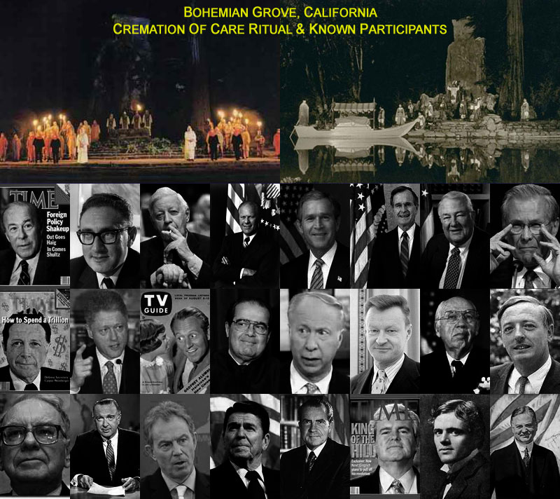 Third Secret of Fatima - An ancient Semitic Form of Freemasonry documented at the Bohemian Grove.