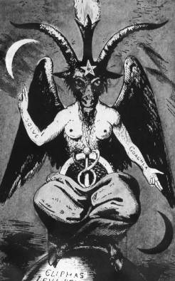 Baphomet, the god of Jewish Freemasons