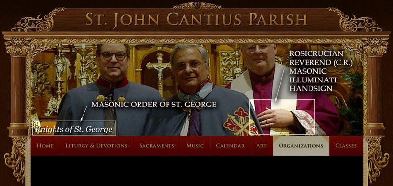 St John Cantius Chicago and the Masonic Order of St George