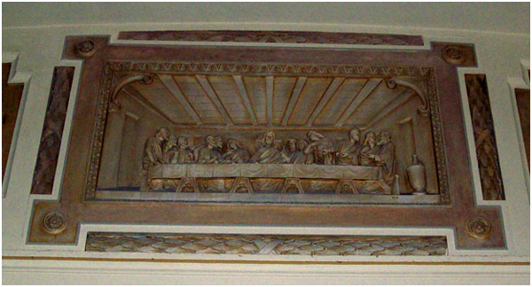St. Mary of the Angels Chicago - DaVinci's Last Supper 2