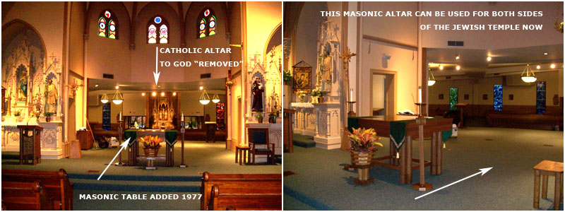 St Mary Parish Buffalo Grove IL - Missing Altar