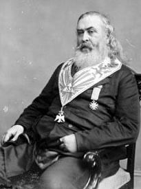 Freemason Albert Pike 1809-1891