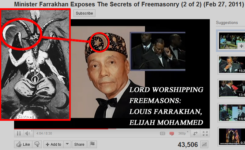 The Lord of Elijah Mohammed is the Devil