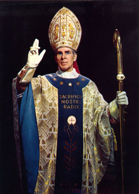 Baphomet follower and heretical Catholic Bishop Fulton Sheen