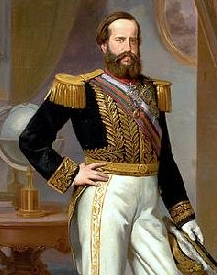 Freemason Pedro II of Brazil 1825-1891