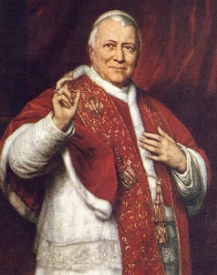 Freemason Pope Pius IX 1792-1878