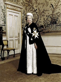 Freemason Queen Elizabeth II 1926-