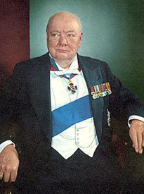 Freemason Sir Winston Churchill 1874-1965