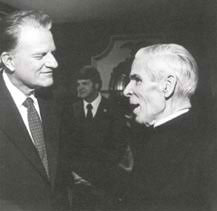 Freemason Billy Graham and Freemason Fulton Sheen